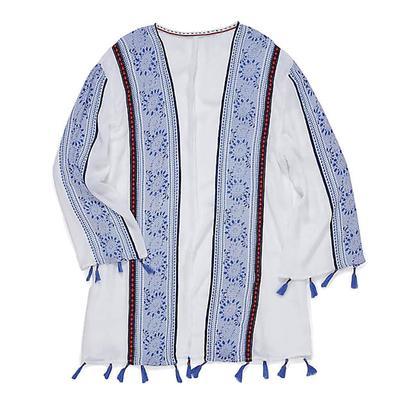 Wrangler Women's Long Sleeve Open Cardigan Top