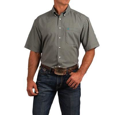 Cinch Men's Short Sleeve Arenaflex Button Down Shirt
