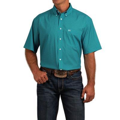 Cinch Men's Short Sleeve Button Down Shirt