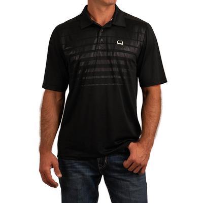Cinch Men's Short Sleeve Arenaflex Spandex Polo Shirt