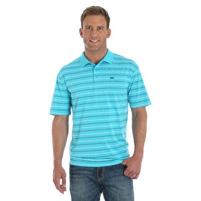 Wrangler Men's Short Sleeve Performance Polo Shirt