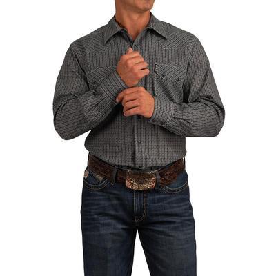 Cinch Men's Long Sleeve Modern Fit Snap Shirt