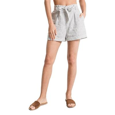 Rag Poets Women's Cannes Striped Shorts