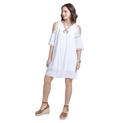 Wrangler Women's Cold Shoulder Dress