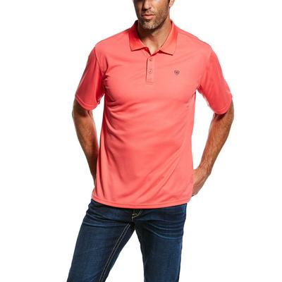 Ariat Men's Short Sleeve Tek Polo Shirt