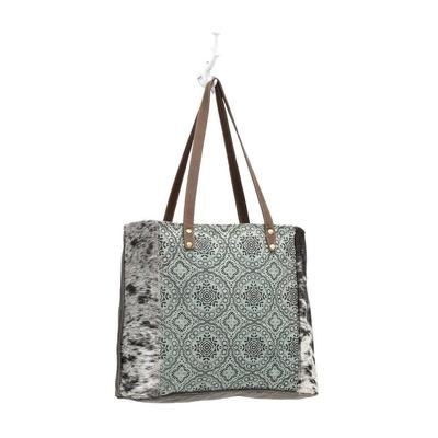 Myra Bag Women's Floral Chic Canvas Tote Bag