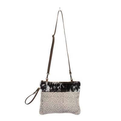 Myra Bag Women's Livid Strip Rug Pouch Bag