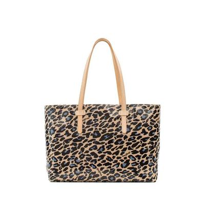Consuela's Blue Jag East/West Tote