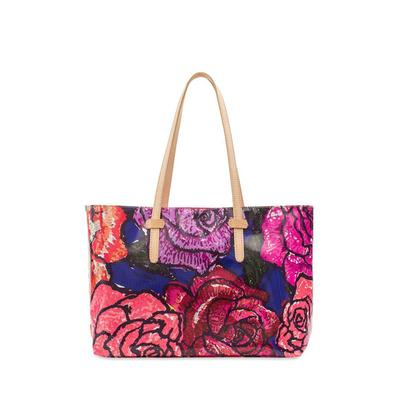 Consuela's Royal East/West Tote