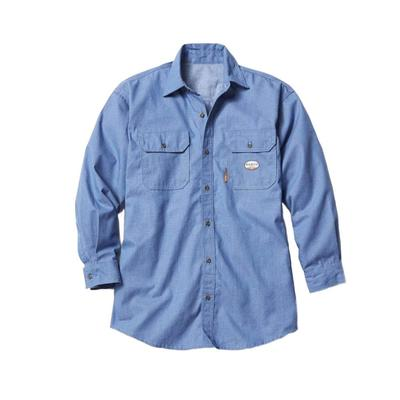 Rasco Men's Chambray FR Uniform Shirt