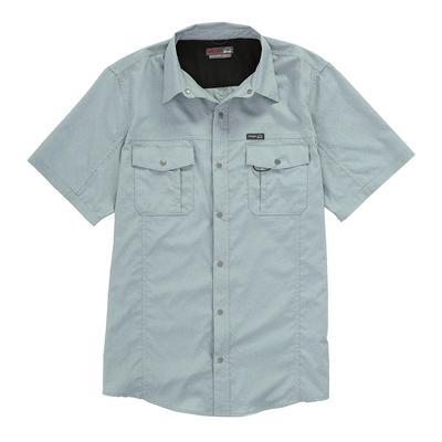 Wrangler Men's Short Sleeve Flap Pocket Hike Shirt