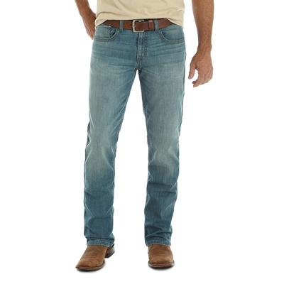 Wrangler Men's Vintage Boot Stretch Denim Jeans