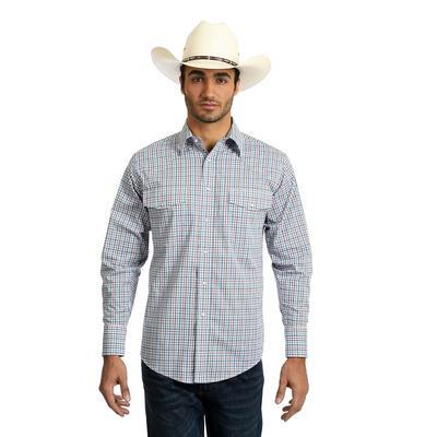 Wrangler Men's Long Sleeve Wrinkle Resistant Shirt