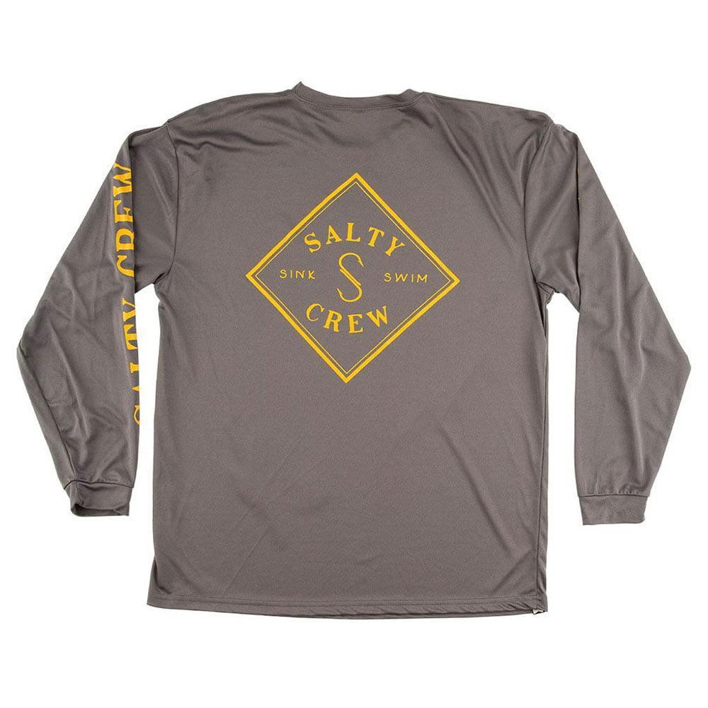 buy popular b119d 0817c Salty Crew Men s Long Sleeve Tippet Tech T-Shirt