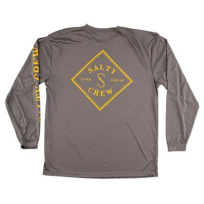 Salty Crew Men's Long Sleeve Tippet Tech T-Shirt