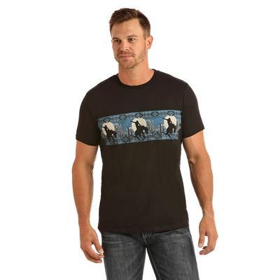 Panhandle Men's Short Sleeve Border T-Shirt