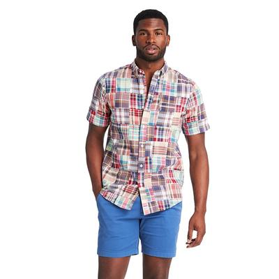Vineyard Vines Men's Patchwork Slim Murry Shirt