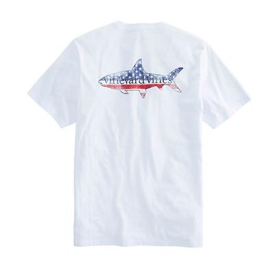 Vineyard Vines Men's Short Sleeve American Bone Fish T-Shirt