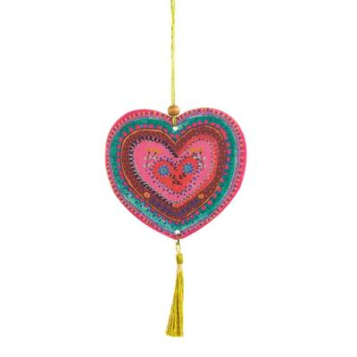 Natural Life Hanging Heart Air Freshener