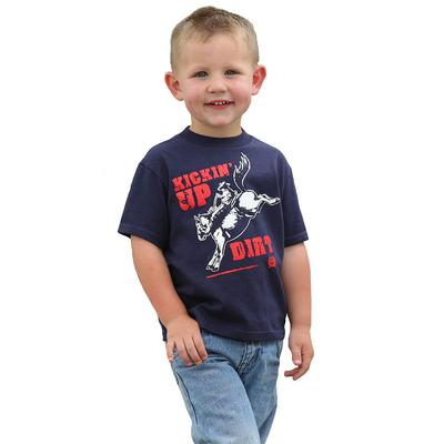 Cinch Boy's Classic Crew Neck Logo Tee