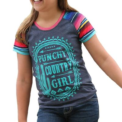 Cruel Girl Girl's Punchy Country Girl Raglan Tee