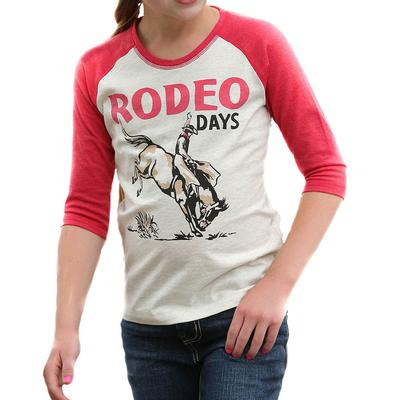 Cruel Girl Girl's Rodeo Days Raglan Tee