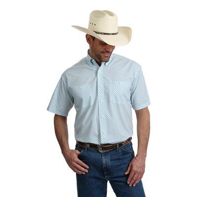 Wrangler George Strait Short Sleeve Turquoise