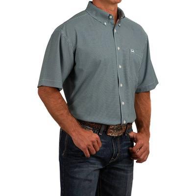 Cinch Men's Short Sleeve Arena Flex Button Down Shirt