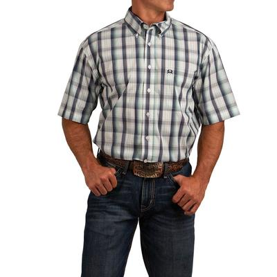Cinch Men's Short Sleeve Arena Flex Button Down Shirt