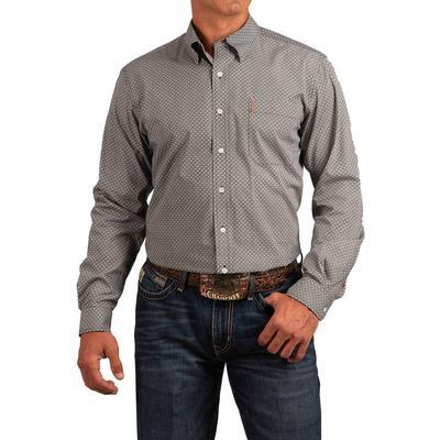 Cinch Men's Long Sleeve Modern Fit Button Down Shirt