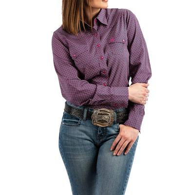 Cinch Women's Long Sleeve Snap Shirt