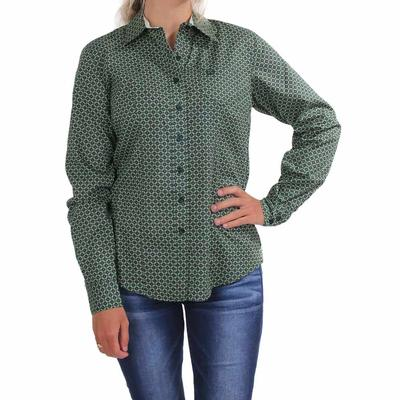 Cinch Women's Long Sleeve Button Shirt