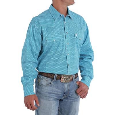 Cinch Men's Long Sleeve Western Snap Shirt