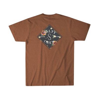 Salty Crew Men's Short Sleeve Island Time T-Shirt