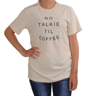 Vintage Soul No Talkie Til Coffee Tee