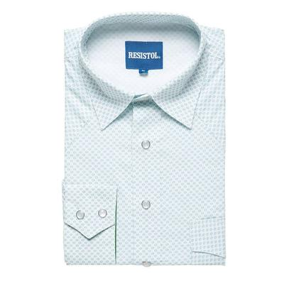 Resistol Men's Long Sleeve Shetland Snap Shirt