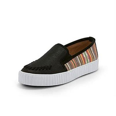 Reba By Justin Women's Embossed Cowhide & Serape Print Shoes
