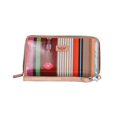 Consuela's Rusty Wristlet Wallet