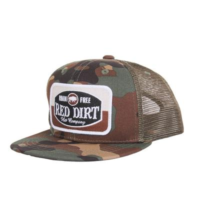 Red Dirt Hat Co.'s Youth Camo Roam Free Cap