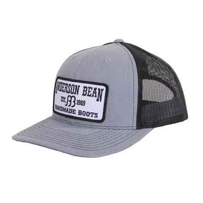 Red Dirt Hat Co.'s Grey and Black Anderson Bean Cap