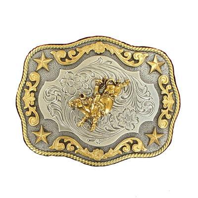M & F Men's Bull Rider Belt Buckle