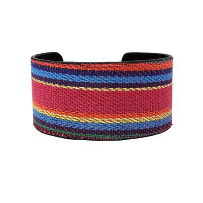 Serape Cuff Bracelet