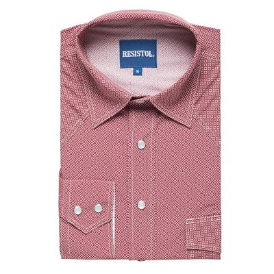 Resistol Men's Long Sleeve Dales Snap Shirt