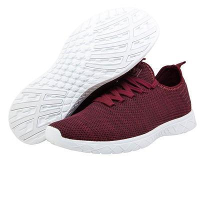 Hey Dude Women's Wine Levante Eco-Knit Shoe