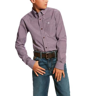 Ariat Boy's Doug Performance Shirt