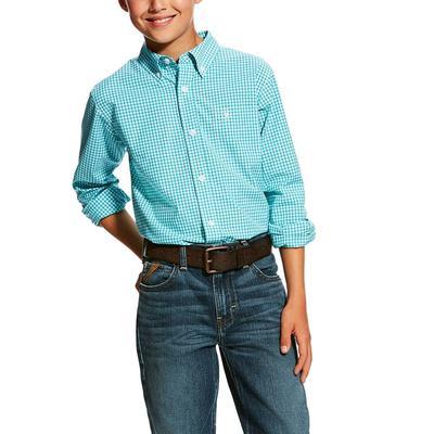 Ariat Boy's Hallaway Performance Shirt