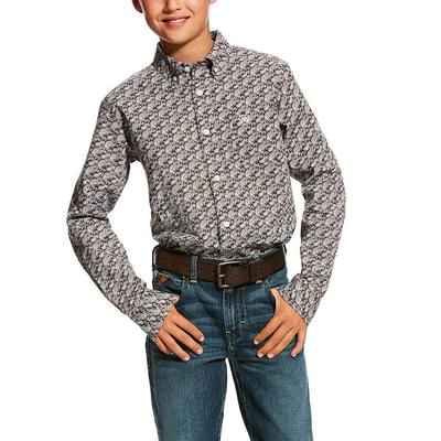 Ariat Boy's Hartings Print Shirt