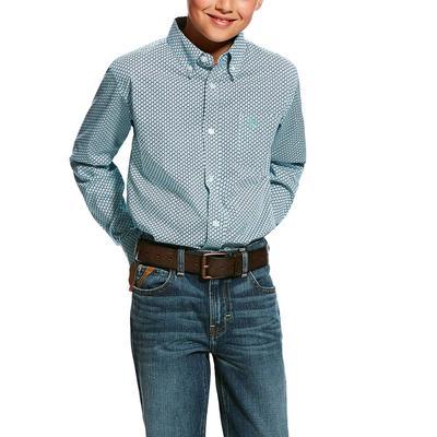Ariat Boy's Hassinger Print Shirt