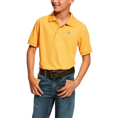 Ariat Boy's Bitter Orange Tek Polo