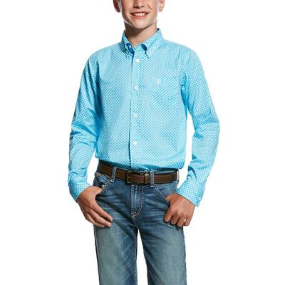 Ariat Boy's Molson Print Shirt